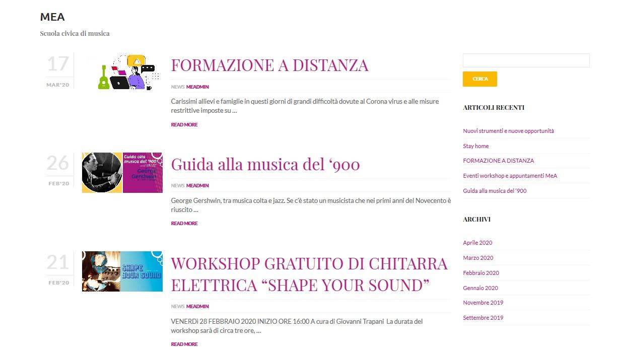 news - sito web agency Intu Siniscola